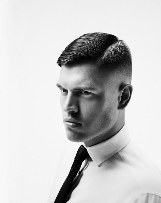 men's haircut garcon