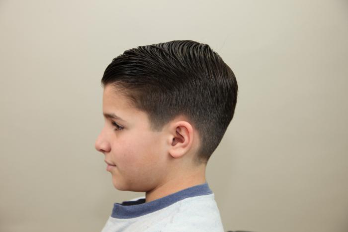 haircut garcon