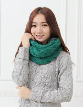 как связать шарф хомут спицами руководство и схема