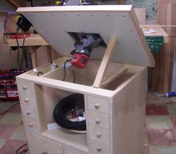 Как сделать стол для фрезера своими руками видео