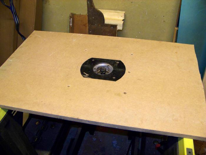 Пластина для фрезера своими руками фото 934