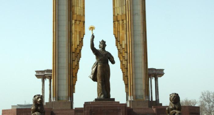 the capital of the Republic of Tajikistan