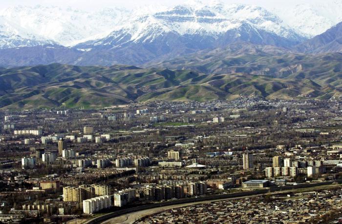 the capital of Tajikistan