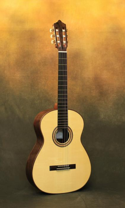 the difference between a classical guitar and an acoustic photo