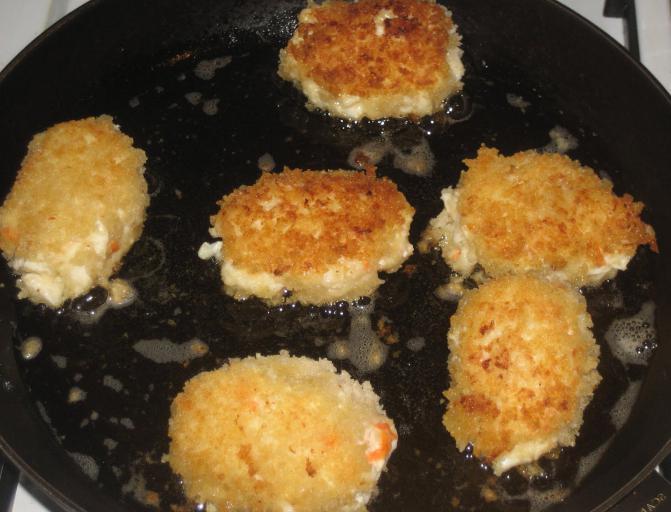 рыбные котлеты из путассу в духовке рецепт