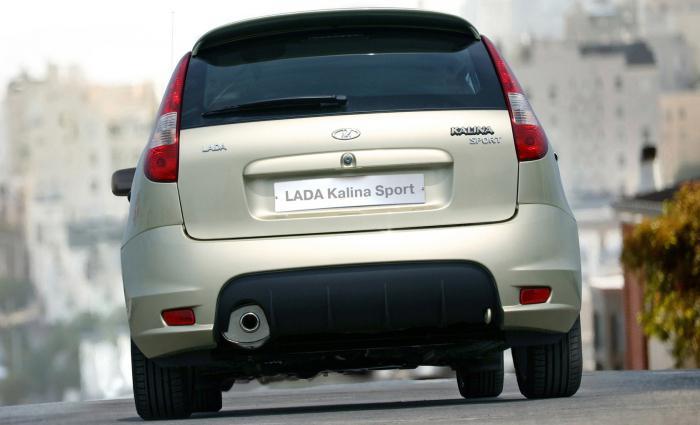 New Lada Kalina hatchback