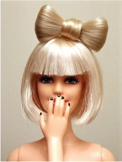Прическа для куклы своими руками