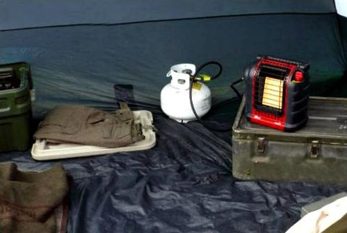 tourist gas heaters for tents
