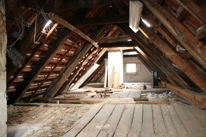 interior attic floor
