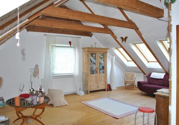 finishing attic floor
