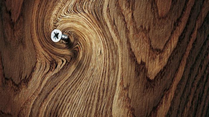 саморезы по дереву