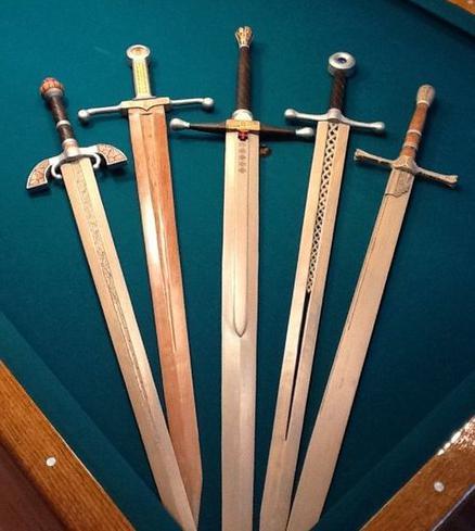Как сделать своими руками меч