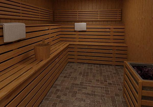 внутренняя отделка в бане