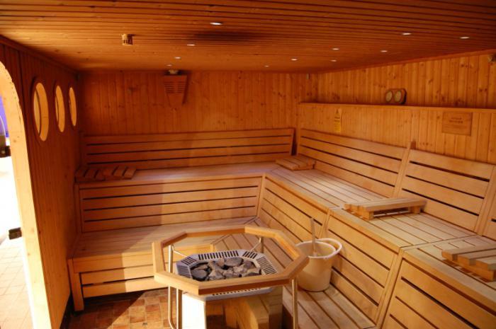 внутренняя отделка бани сауны