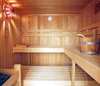 внутренняя отделка бани из бревна