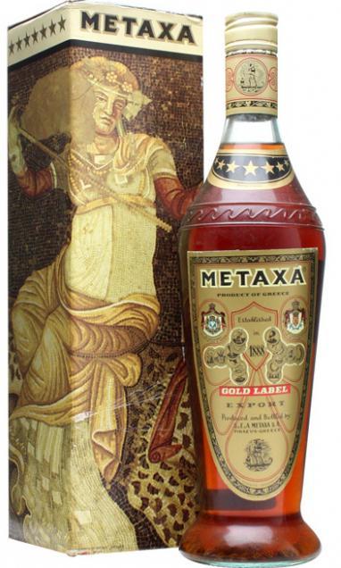 коньяк 5 звезд метакса