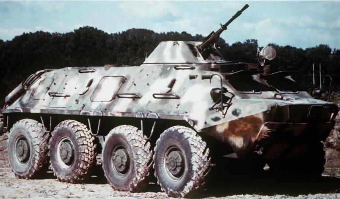 engine btr 70