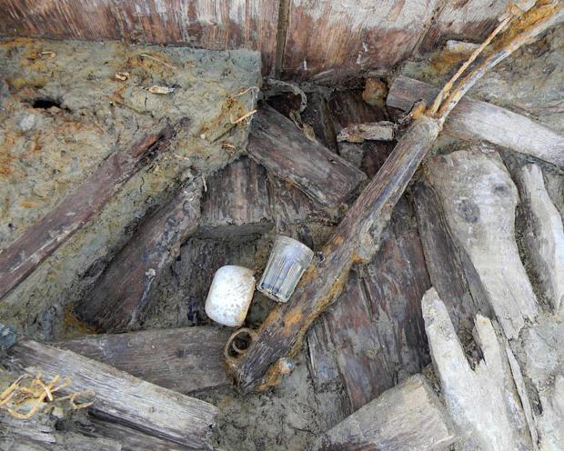 excavations of German dugouts 2013