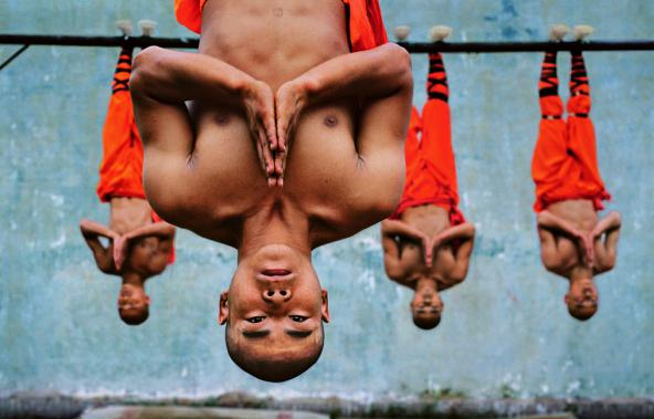 Shaolin monks in the ring