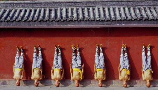 Shaolin monk training