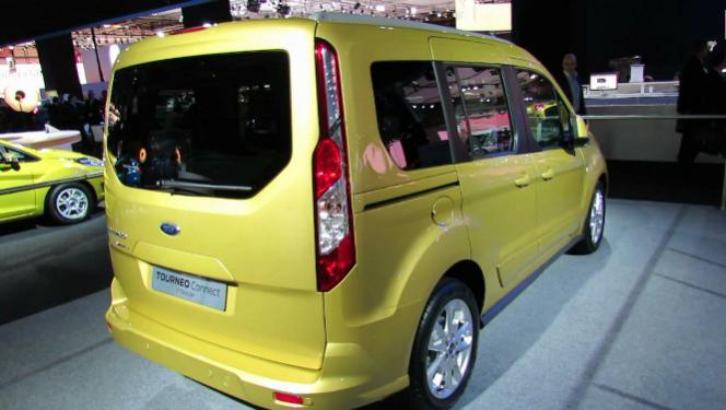 ford tourneo connect specifications
