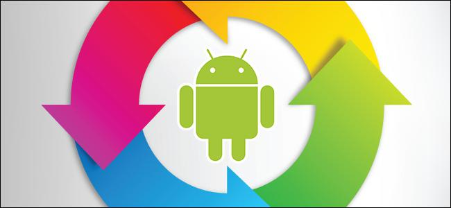 resetting to android via computer