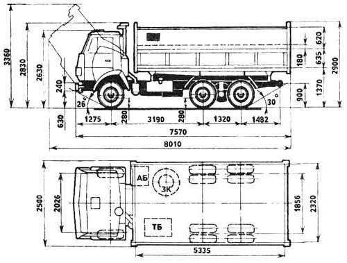 двигатель камаз 55102