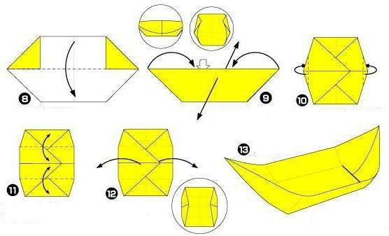 how to fold the boat out of paper