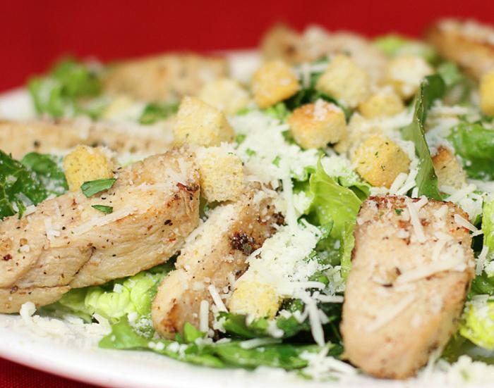 Салаты из курицы рецепты вкусные