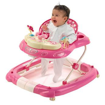 with how many months you can put a girl in a walker