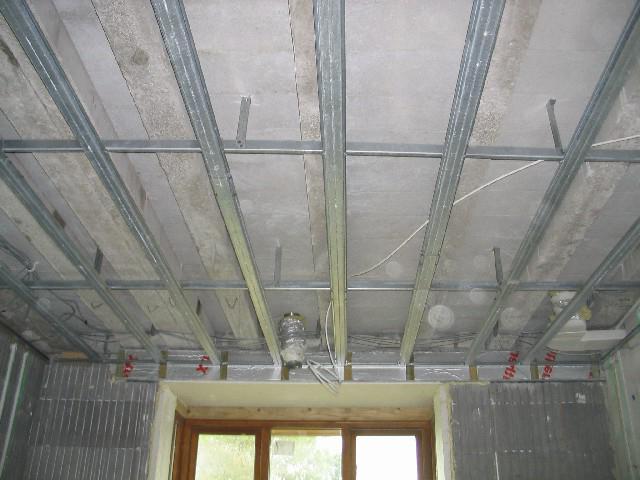 design of plasterboard ceilings
