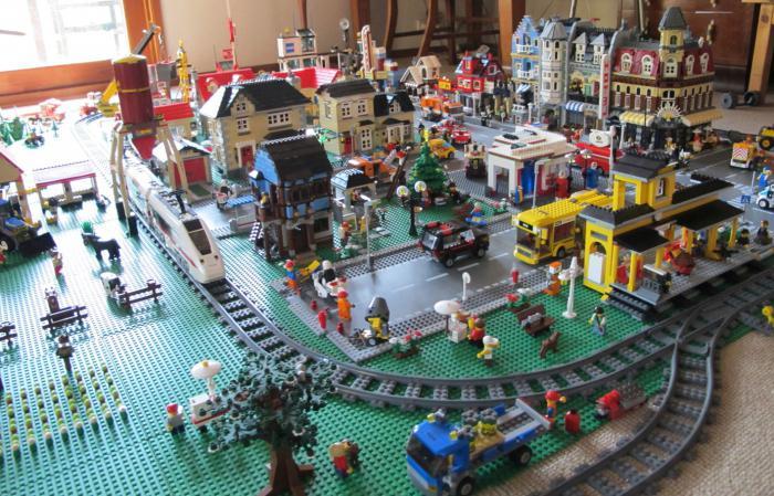 Как сделать лего город из конструктора? Различные 32