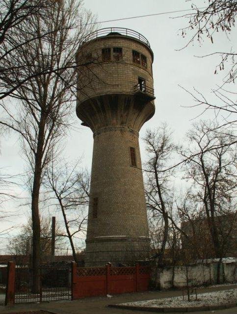the work of the water tower