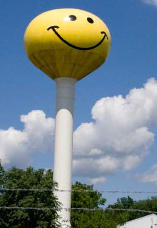 determine the height of the water tower