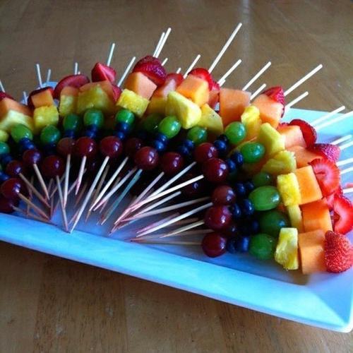 канапе из фруктов рецепты с фото