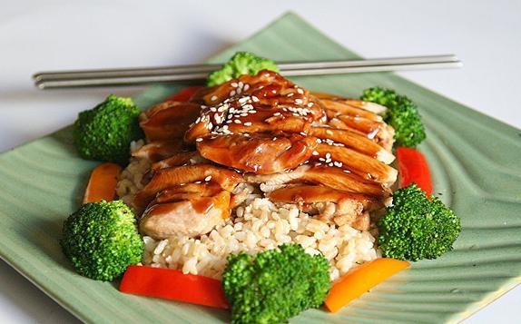 соба с курицей и овощами и соусом терияки рецепт с фото пошагово
