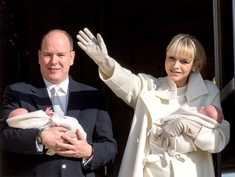 Prince of Monaco Alber and Princess Charlene