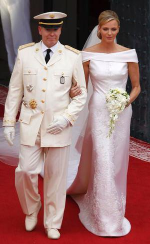 Prince of Monaco and Princess Charlene