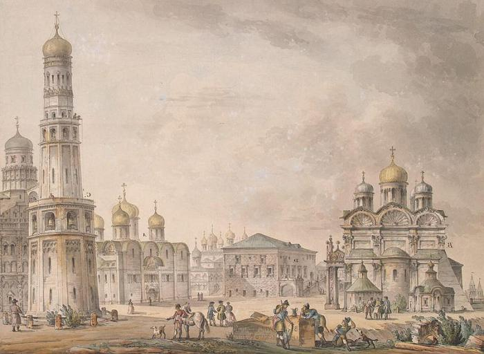 Moscow Cathedral of Archangel