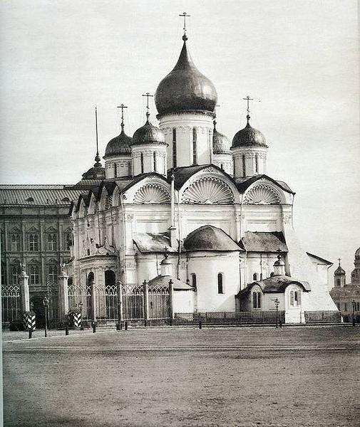 Archangel Cathedral of the Moscow Kremlin description