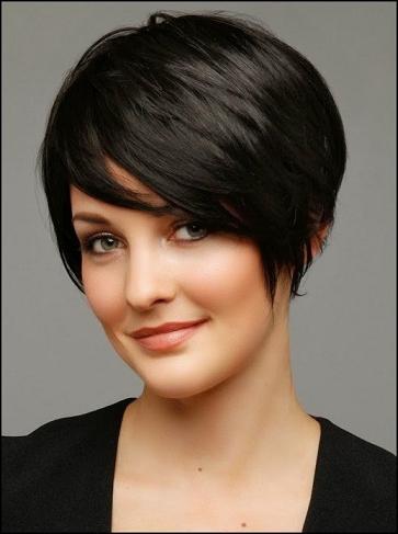 Короткие стрижки для волос без челки
