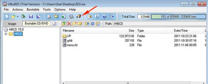 how to burn an iso image to disk