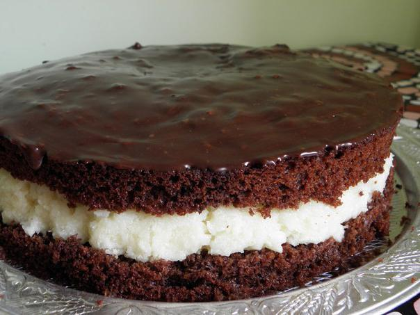 торт баунті рецепт з фото