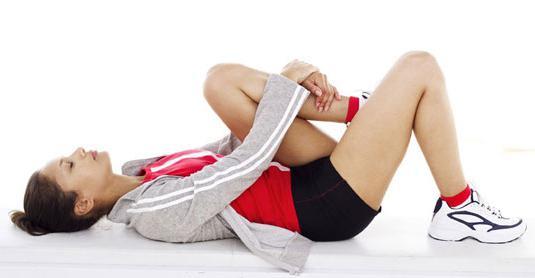 Тянет мышцы после тренировки