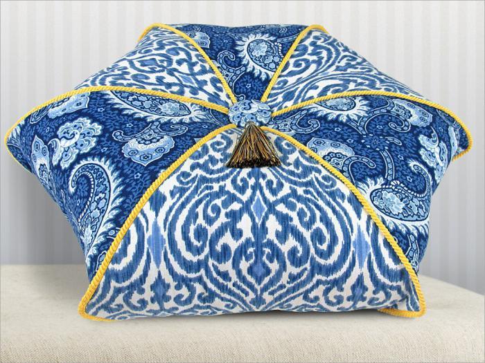 схема декоративных подушек