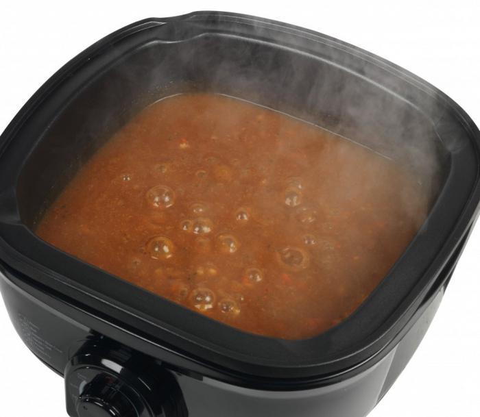 Тушить мясо с картошкой в горшке