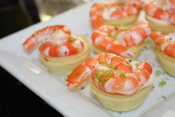 Салаты для тарталеток с креветками рецепты с