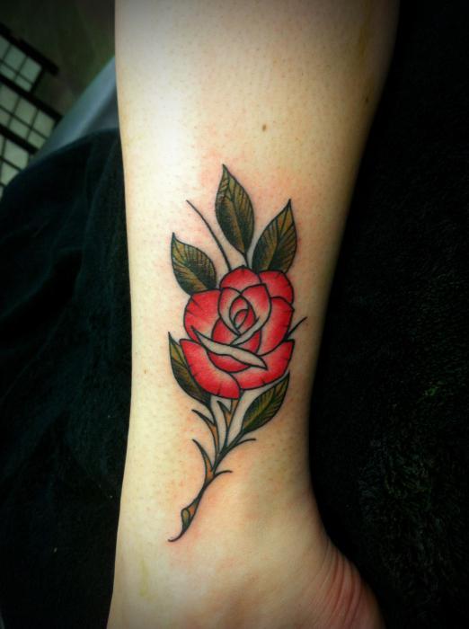 Значение татуировок на спине у девушек 4