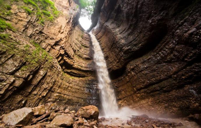 Чегемские водопады Кабардино Балкария