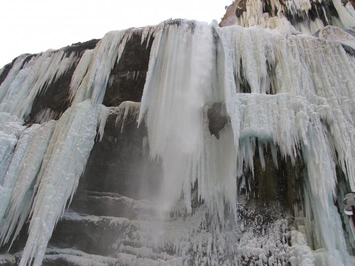 Chegem waterfalls excursion